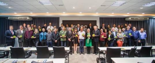 O PBF/IA recebeu sexta-feira, o Troféu Onda Verde