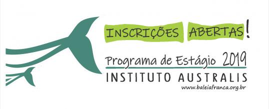 Programa de Estágio 2019 – Inscrições Abertas!