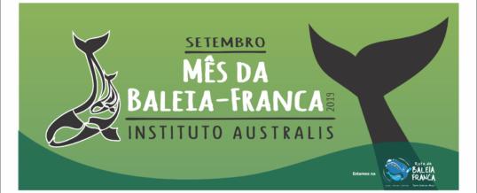 SETEMBRO – MÊS DA BALEIA FRANCA